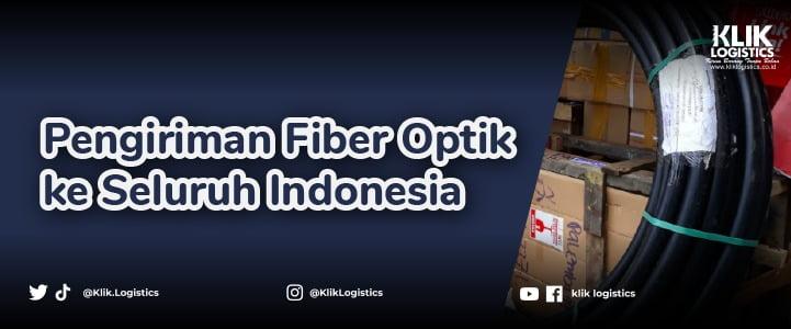 pengiriman fiber optic